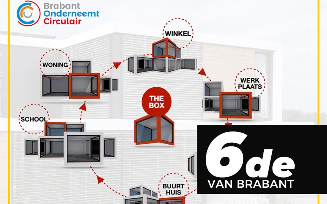 THEBOXSYSTEM heeft met trots de 6de plek van de Brabantse Circulaire Innovatie ingenomen!